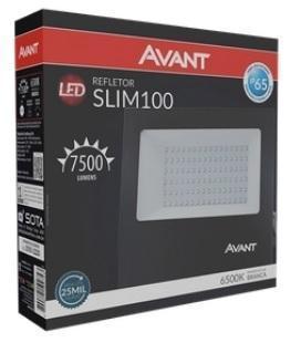 REFLETOR AVANT LED SLIM100 6500K