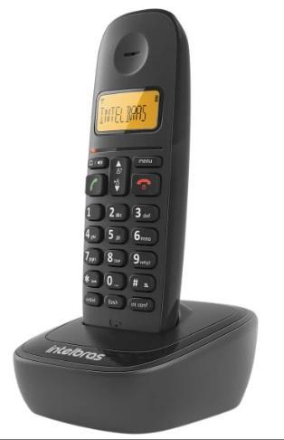 TELEFONE INTELBRAS DIG S/FIO TS 2510