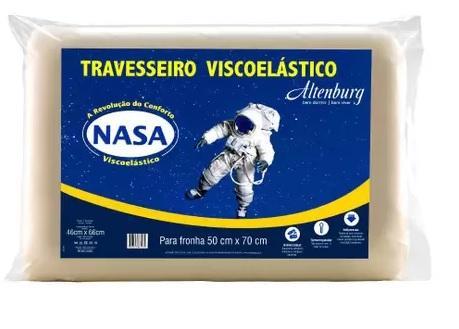 TRAVESSEIRO ALTENBURG 50X70 VISCOELASTICO