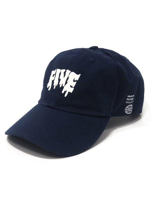 Boné Dad Hat Melted Azul Marinho - Space Edition