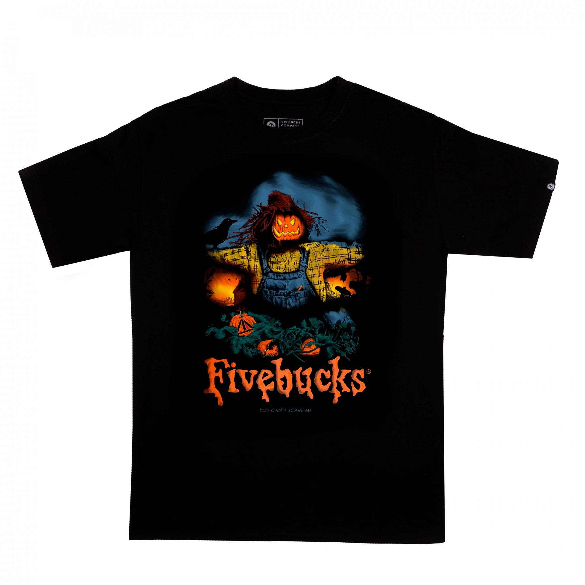 Camiseta Five Goosebumps II (Brilha no escuro)