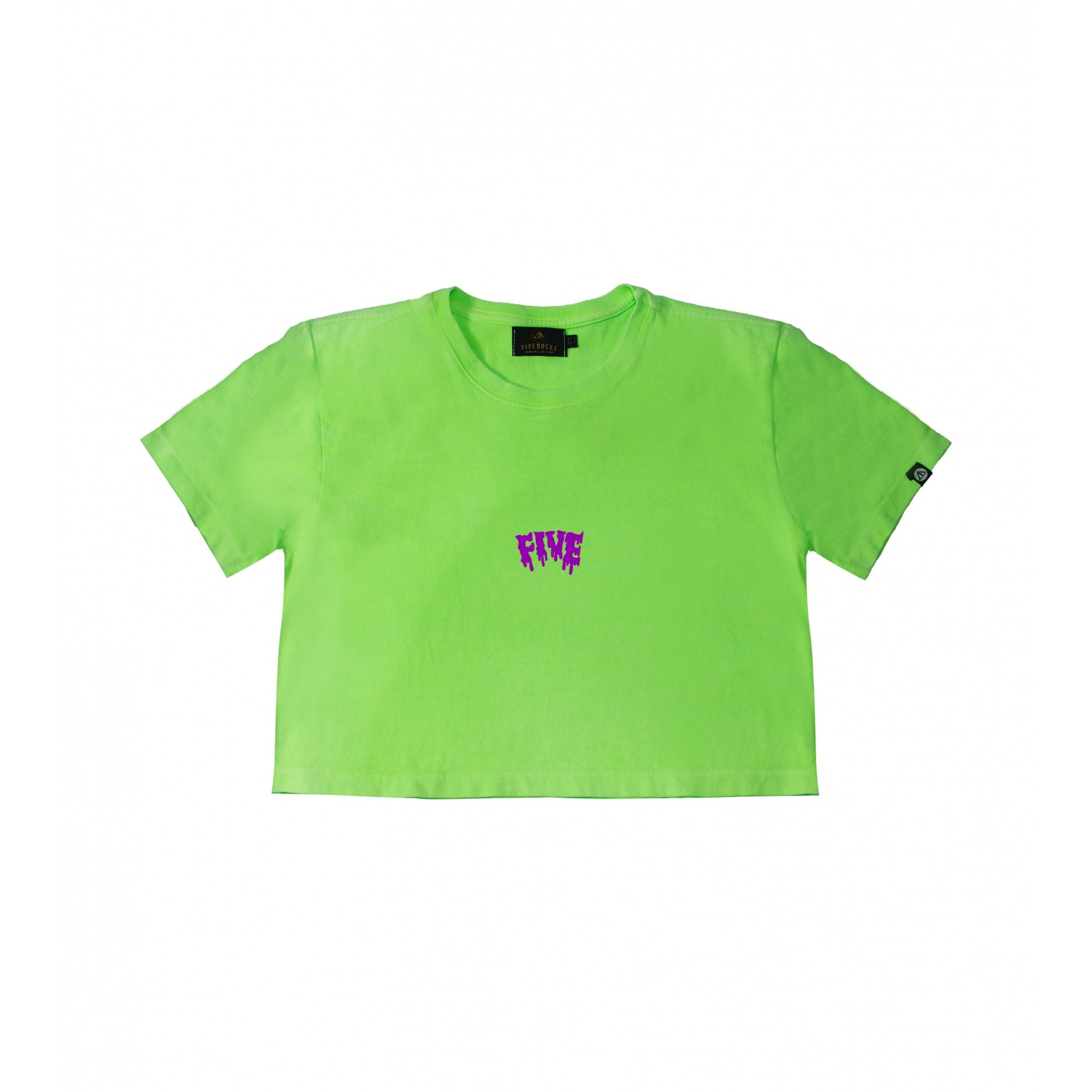 Cropped Melted Neon