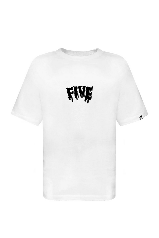 Camiseta Five Melted Branca