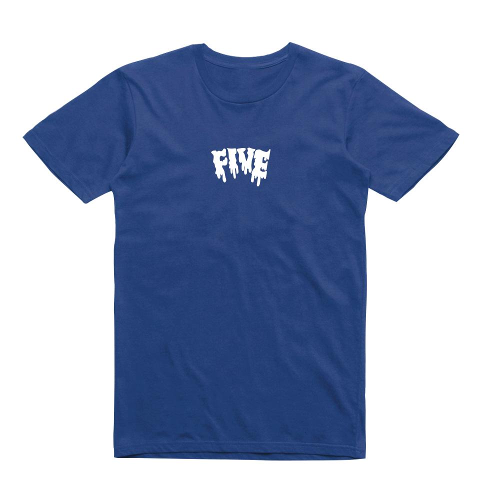 Camiseta Five Melted Azul