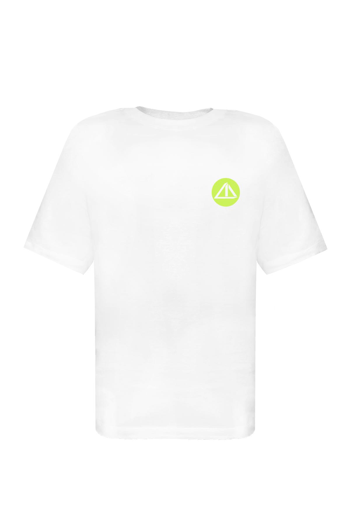 Tee Mini Logo Branca Ed. Neon
