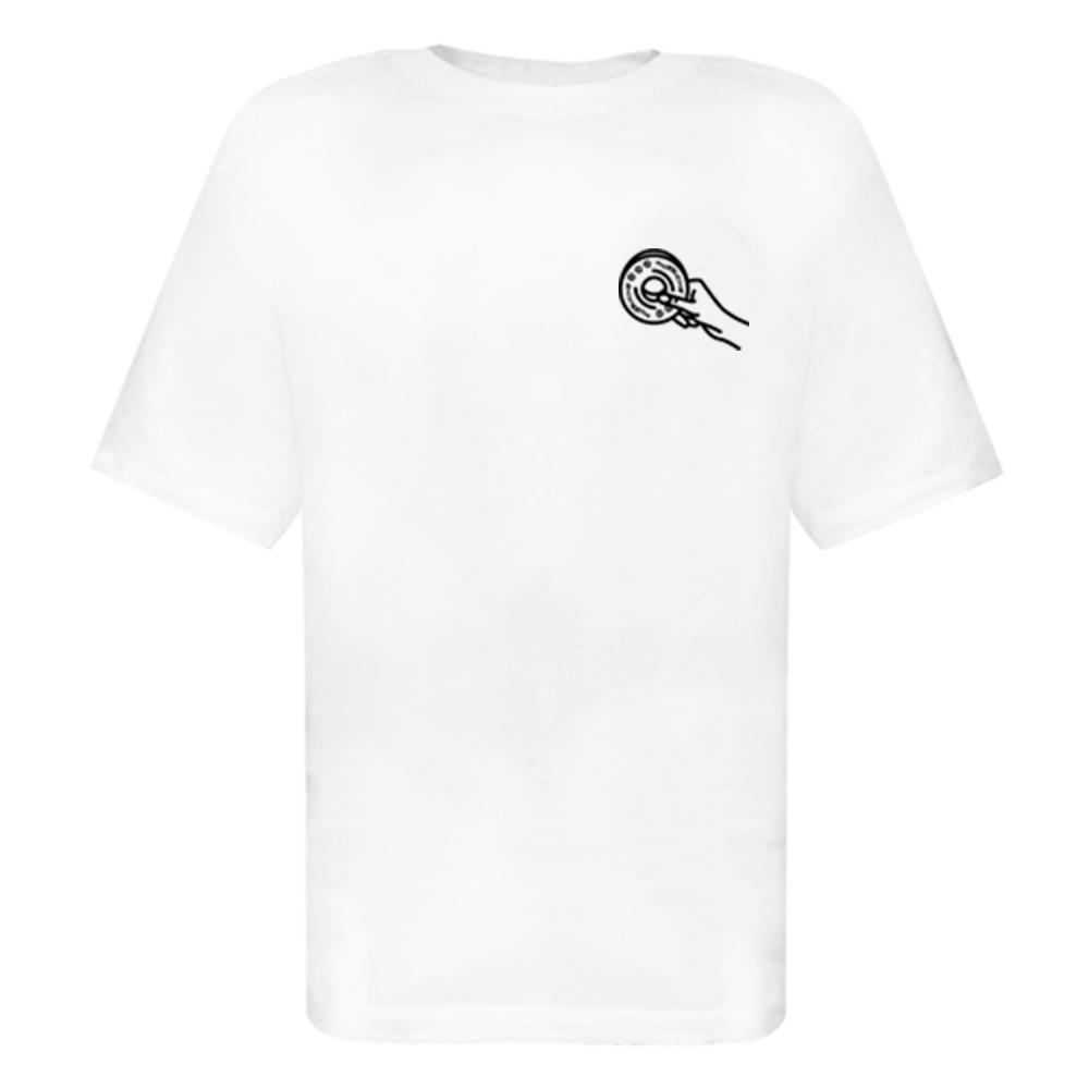 Camiseta Five Skate Club Branca