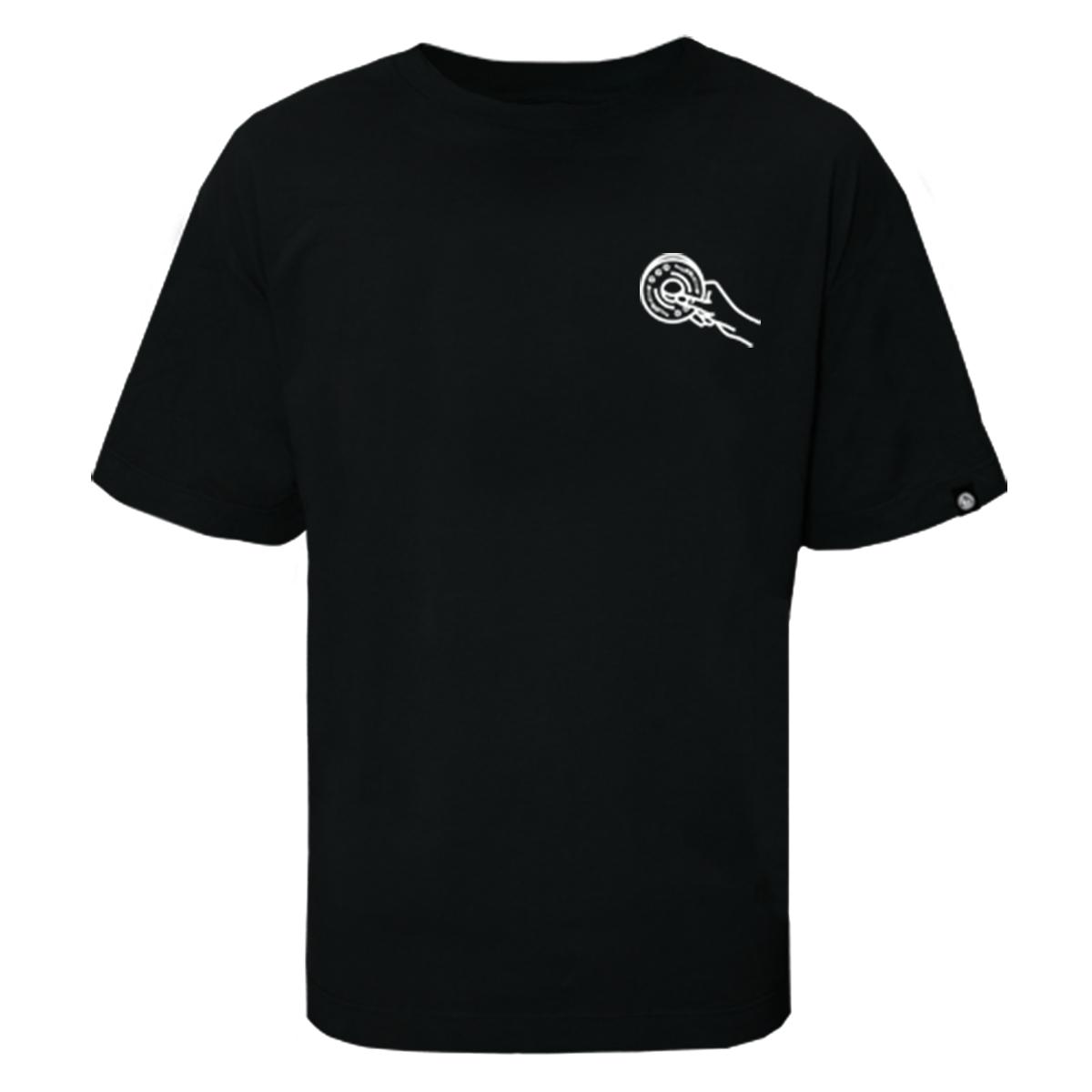 Camiseta Five Skate Club Preta
