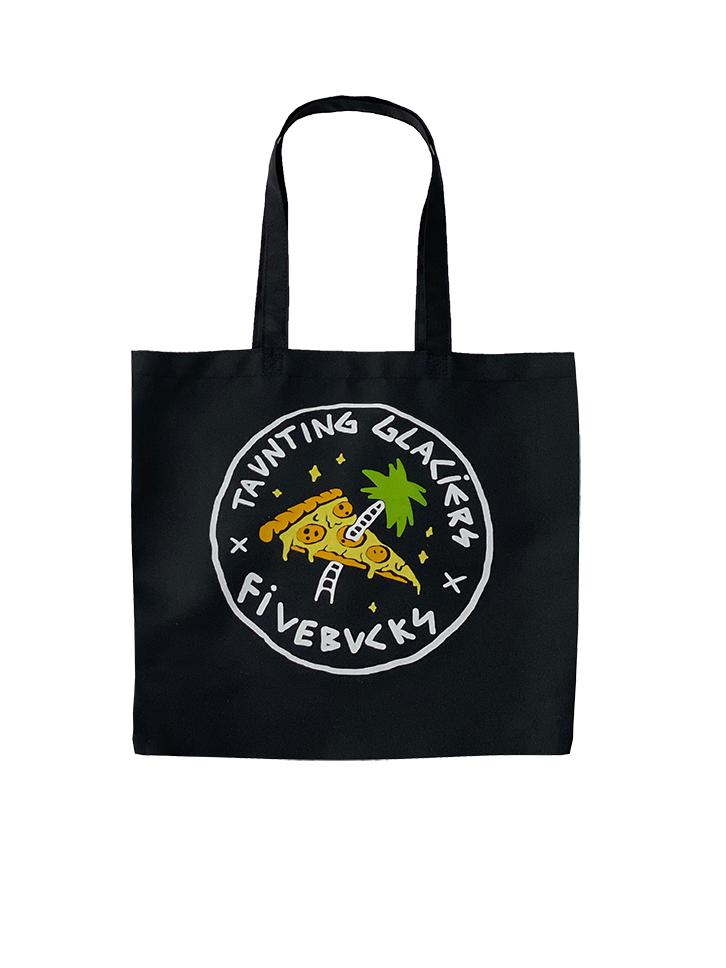 Tote Bag Fivebucks x Taunting Glaciers - Pizza Party
