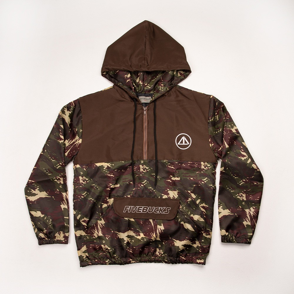 Windbreaker Double Colors Camo