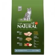 Alimento Seco Guabi Natural Frango e Arroz Integral Gatos Sênior Castrados -Affinity