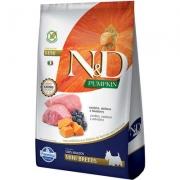 Alimento Seco  N&D Pumpkin Carnes Nobres Cordeiro para Cães Adultos de Raças Pequenas -Farmina