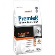 Alimento Seco Nutrição Clínica Diabetes para Cães Adultos Médio e Grande Portes -Premier Pet