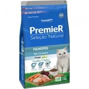 Alimento seco Premier Seleção Natural para Gatos Filhotes Até 12 Meses