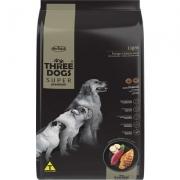 Alimento seco Three Dogs Super Premium Light Frango e Batata Doce para Cães