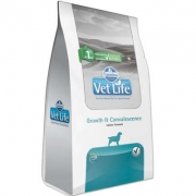 Alimento Seco Vet Life Growth & Convalescence para Cães Adultos em Recuperação Nutricional -Farmina