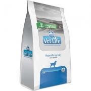 Alimento Seco Vet Life Natural Hypoallergenic para Cães Adultos com Problemas de Pele -Farmina