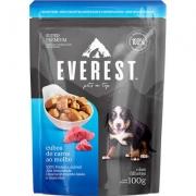 Alimento Úmido Everest Cubos de Carne ao Molho para Cães Filhotes