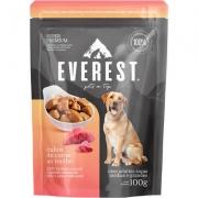 Alimento Úmido Everest Cubos de Carne ao Molho para Cães Raças Médias e Grandes