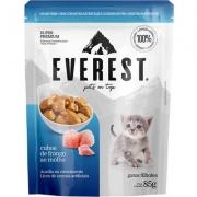 Alimento Úmido Everest Cubos de Frango ao Molho para Gatos Filhotes
