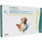 Antipulgas e Carrapatos  Revolution 12% para Cães de 20 a 40 kg - 240 mg -Zoetis