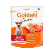 Biscoito Golden Cookie para Cães Adultos de Porte Pequeno Sabor Salmão e Quinoa 350 g -Premier Pet