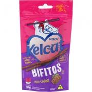 Petisco Kelcat Bifitos Carne -Kelco