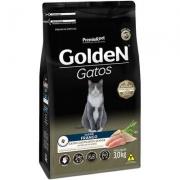 Alimento Seco Golden Gatos Castrados Sênior Frango -PremieR Pet