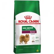 Alimento Seco Mini Indoor Senior para Cães de Raças Pequenas com 8 Anos ou mais -Royal Canin