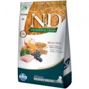 Alimento Seco N&D Ancestral Grain Selection Carnes e Frutas para Cães Filhotes Raças Médias -Farmina