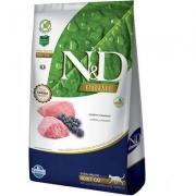 Alimento Seco N&D Prime Cordeiro e Blueberry Gatos Adultos -Farmina