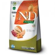 Alimento Seco N&D Pumpkin Pato, Abóbora e Melão para Gatos Adultos -Farmina