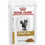 Alimento úmido para Gatos Veterinary Urinary S/O Feline Wet 85g -Royal Canin