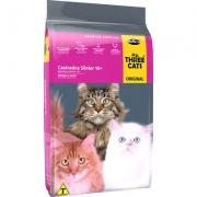 Ração Seca Three Cats Frango e Arroz para Gatos Sênior Castrados 10+