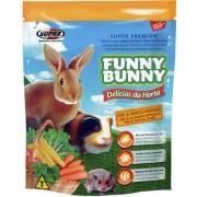 Ração Supra Funny Bunny Delícias da Horta Coelhos, Hamster e Outros Pequenos Roedores
