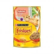 Alimento Úmido Nestlé Purina Friskies Sachê Frango ao Molho para Gatos Filhotes -85g