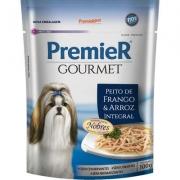 Alimento úmido Premier Pet Gourmet Sachê Frango para Cães Adultos -100g