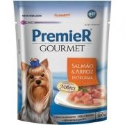 Alimento Úmido Premier Pet Gourmet Sachê Salmão para Cães Adultos -100g