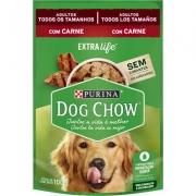 Alimento Úmido Purina Dog Chow Sachê para Cães Adultos Sabor Carne -100g