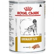 Alimento Úmido Royal Canin Lata Canine Veterinary Diet Urinary S/O -410g