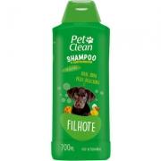 Shampoo e Condicionador  2 em 1 Filhotes Pet Clean -700ml