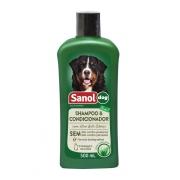 Shampoo e Condicionador Sanol Dog -500ml
