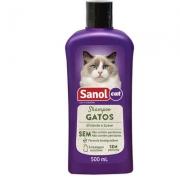 Shampoo Sanol Cat para Gatos -500ml