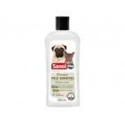 Shampoo Sanol Dog Peles Sensíveis