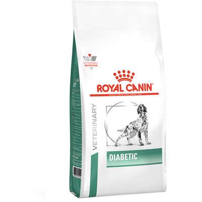 Alimento Seco Canine Veterinary Diet Diabetic para Cães Adultos com Diabetes -Royal Canin