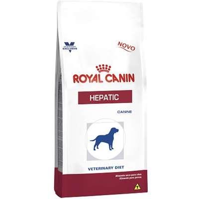 Alimento Seco Canine Veterinary Diet Hepatic para Cães Adultos com Problemas Hepáticos -Royal Canin