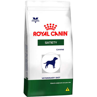 Alimento Seco Canine Veterinary Diet Satiety Support para Cães Adultos -Royal Canin