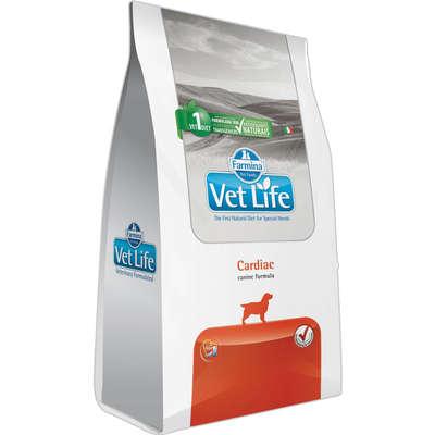 Alimento seco Farmina Vet Life Natural Cardiac para Cães com Insuficiência Cardíaca