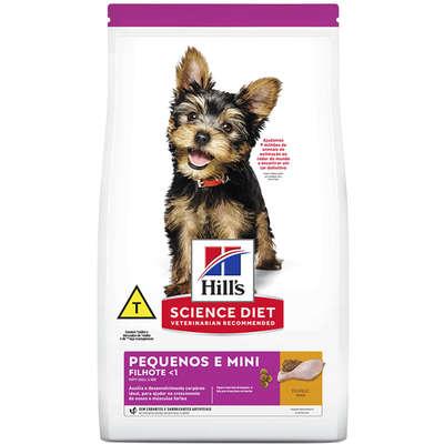 Alimento seco Hill's Science Diet para Cães Filhotes Raças Minis e Pequenas