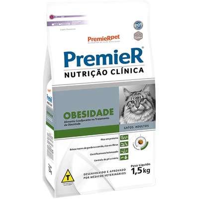Alimento Seco Nutrição Clínica Obesidade para Gatos -Premier Pet