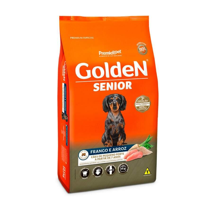 Alimento seco Premier Golden Formula Cães Sênior Mini Bits Frango e Arroz